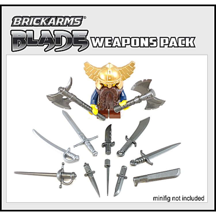 BrickArms: Blade Weapons Pack 2016
