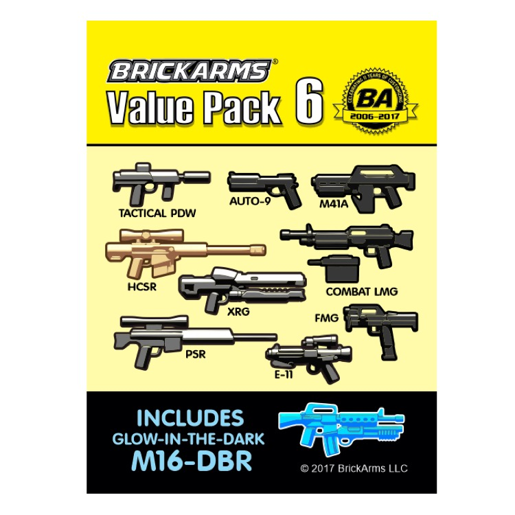 BrickArms: Value Pack 6