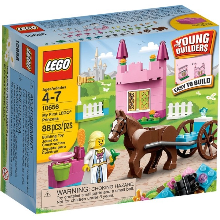 LEGO Bricks & More Sets: 10656 My First Lego Princess NEW
