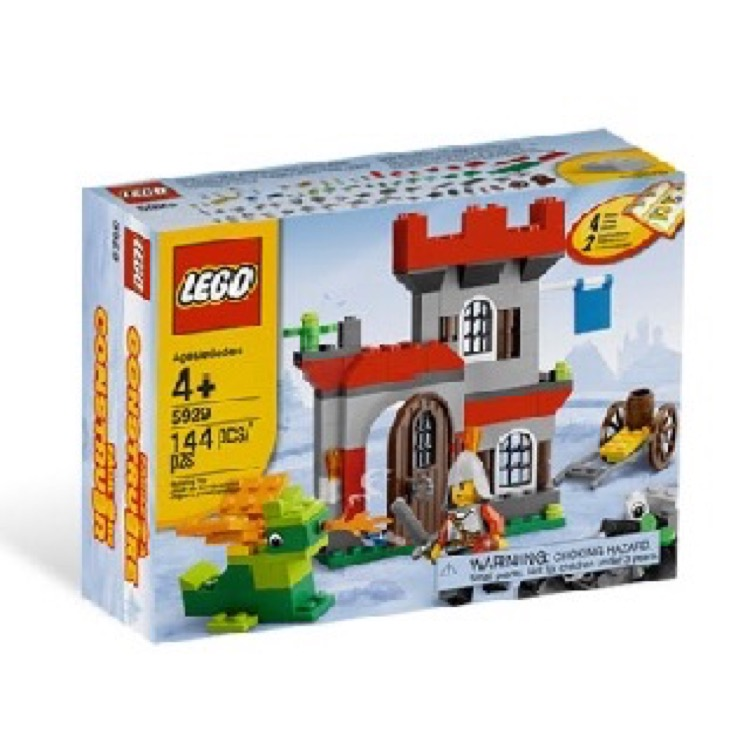 LEGO Bricks & More Sets: 5929 Knight and Castle Building Set NEW