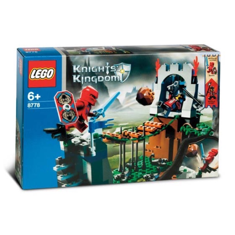 LEGO Castle Sets: Knights' Kingdom II 8778 Border Ambush NEW
