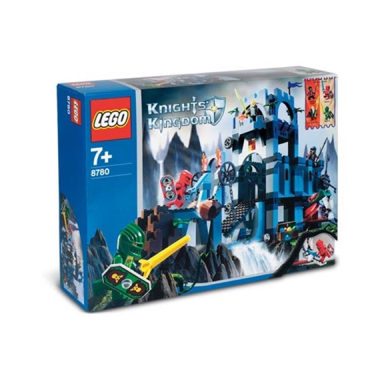 LEGO Castle Sets: Knights' Kingdom II 8780 Citadel of Orlan NEW