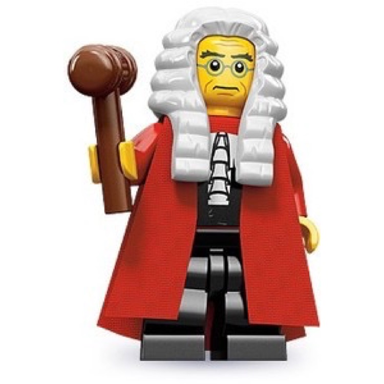 LEGO Collectible Minifigures: 71000 Series 9 Judge NEW