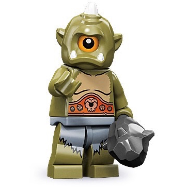 LEGO Collectible Minifigures: 71000 Series 9 Cyclops NEW