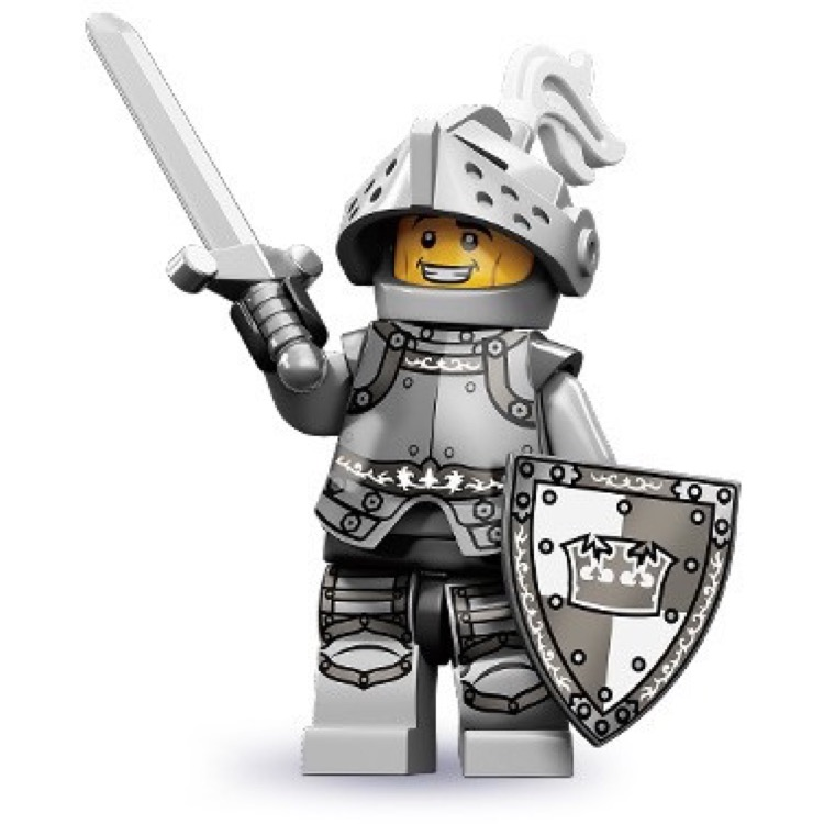LEGO Collectible Minifigures: 71000 Series 9 Heroic Knight NEW