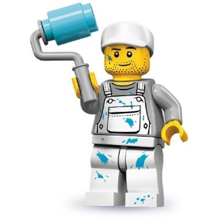 LEGO Collectible Minifigures: 71001 Series 10 Decorator NEW