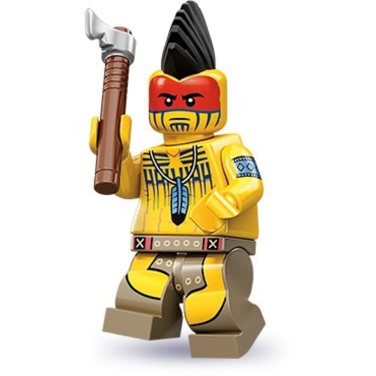 LEGO Collectible Minifigures: 71001 Series 10 Tomahawk Warrior NEW