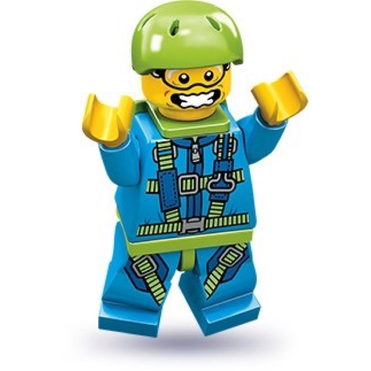 LEGO Collectible Minifigures: 71001 Series 10 Skydiver NEW