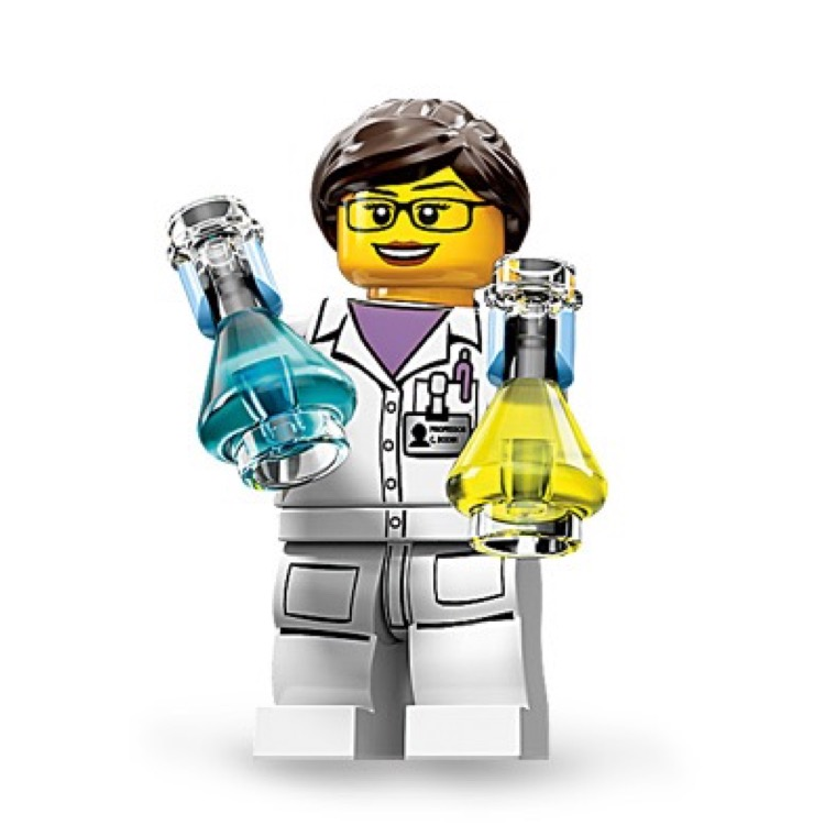 LEGO Collectible Minifigures: 71002 Series 11 Scientist NEW