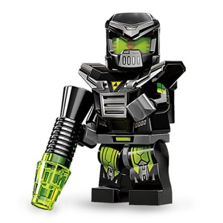 LEGO Collectible Minifigures: 71002 Series 11 Evil Mech NEW