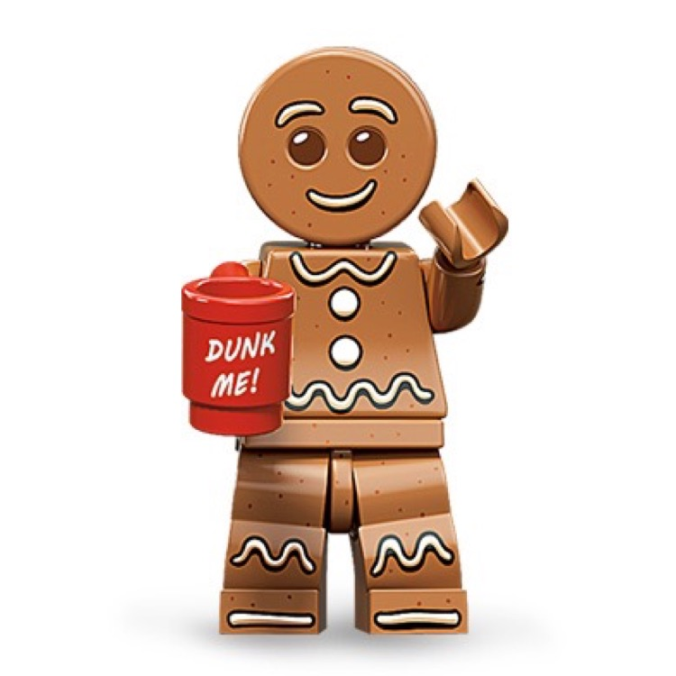 LEGO Collectible Minifigures: 71002 Series 11 Gingerbread Man NEW
