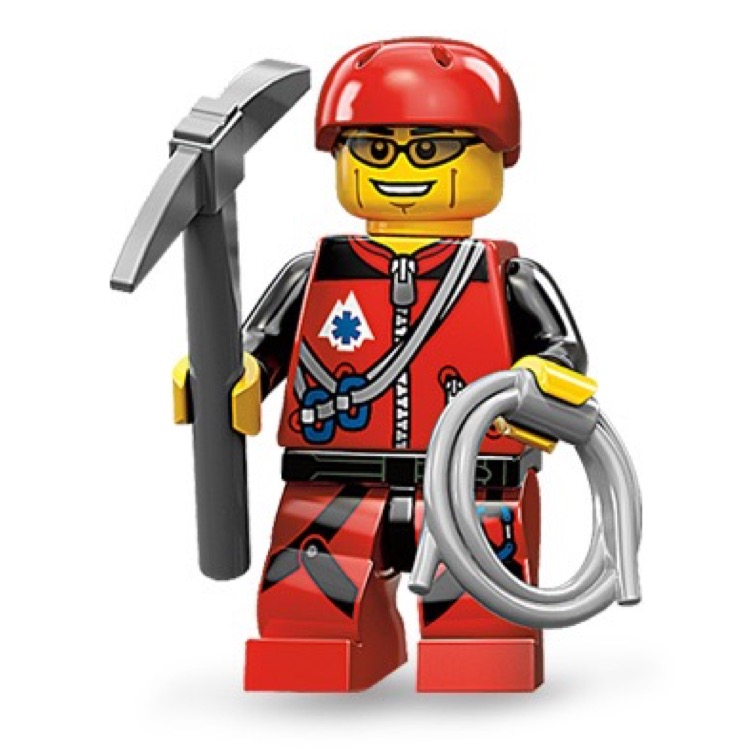 LEGO Collectible Minifigures: 71002 Series 11 Mountain Climber NEW