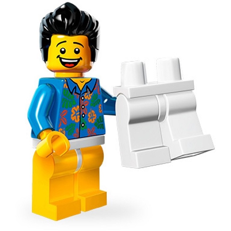 LEGO Collectible Minifigures: 71004 The LEGO Movie Series Where are my pants? Guy NEW