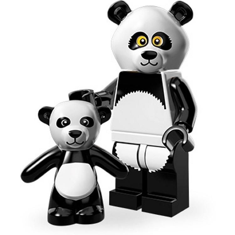 Lego Collectible Minifigures 71004 The Lego Movie Series Panda Guy New