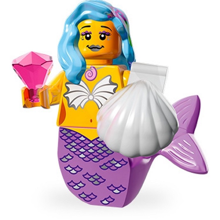 LEGO Collectible Minifigures: 71004 The LEGO Movie Series Marsha Queen of the Mermaids NEW