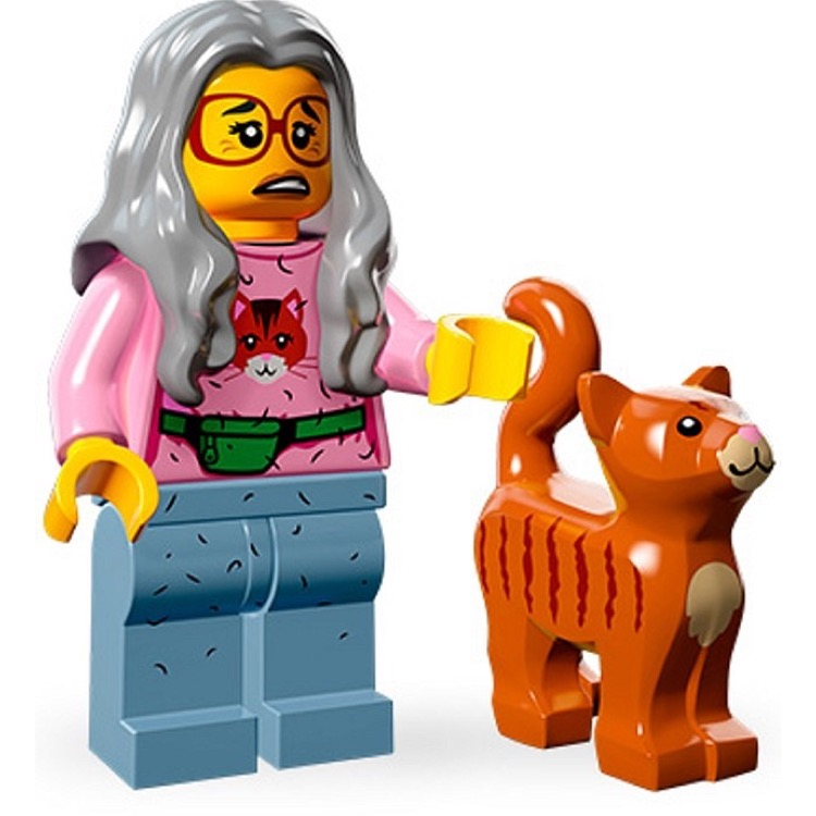 LEGO Collectible Minifigures: 71004 The LEGO Movie Series Mrs. Scratchen-Post NEW