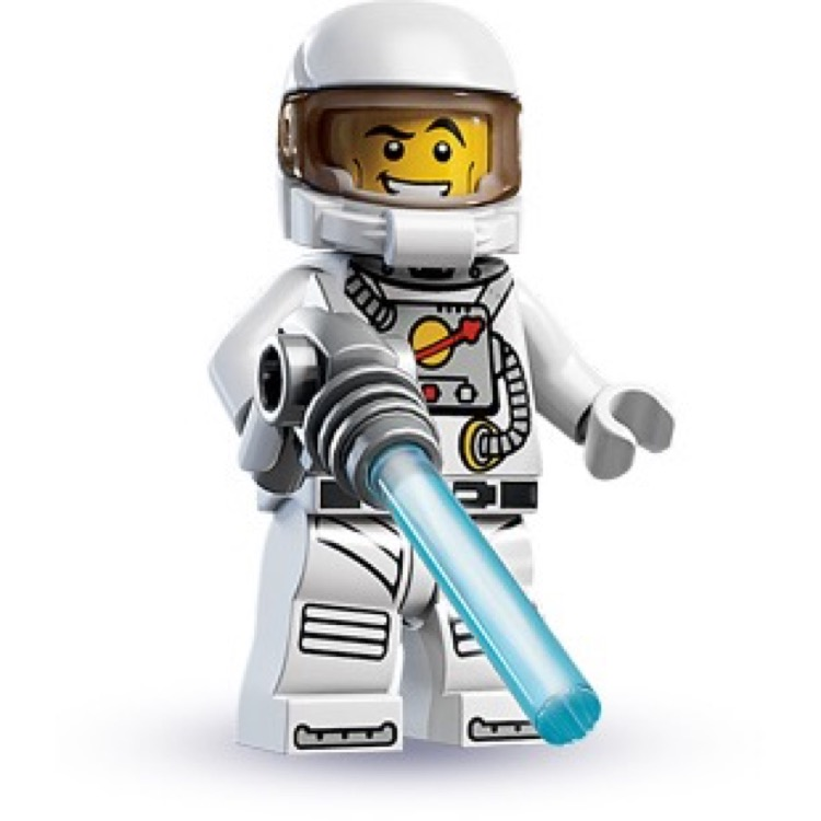 LEGO Collectible Minifigures: 8683 Series 1 Spaceman NEW