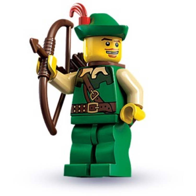 LEGO Collectible Minifigures: 8683 Series 1 Forestman NEW