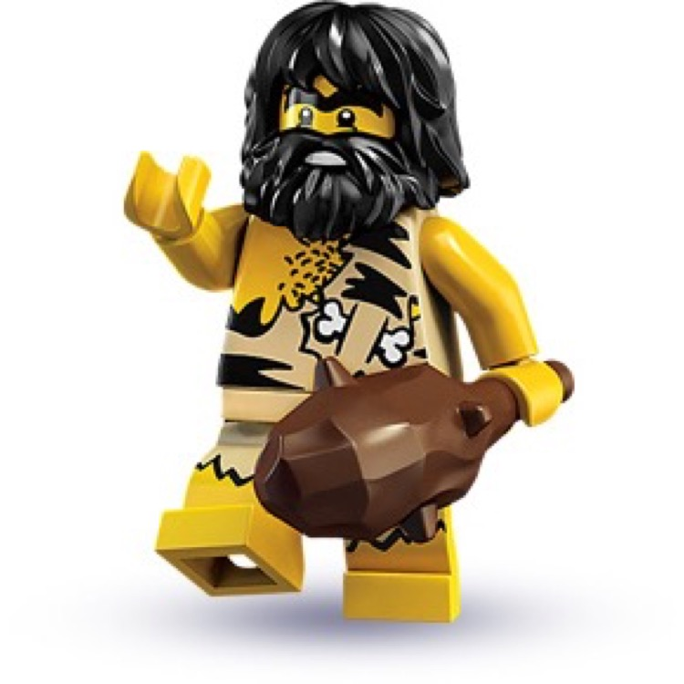 LEGO Collectible Minifigures: 8683 Series 1 Caveman NEW