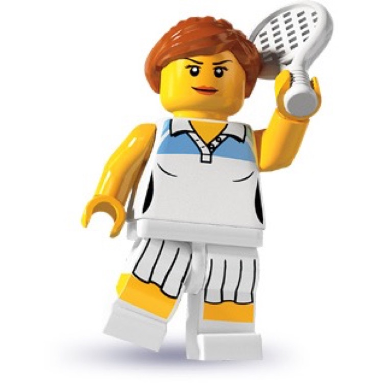 LEGO Collectible Minifigures: 8803 Series 3 Tennis Player NEW