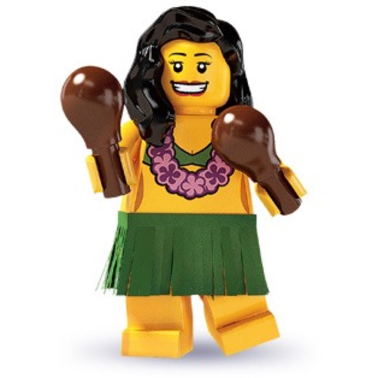 LEGO Collectible Minifigures: 8803 Series 3 Hula Dancer NEW