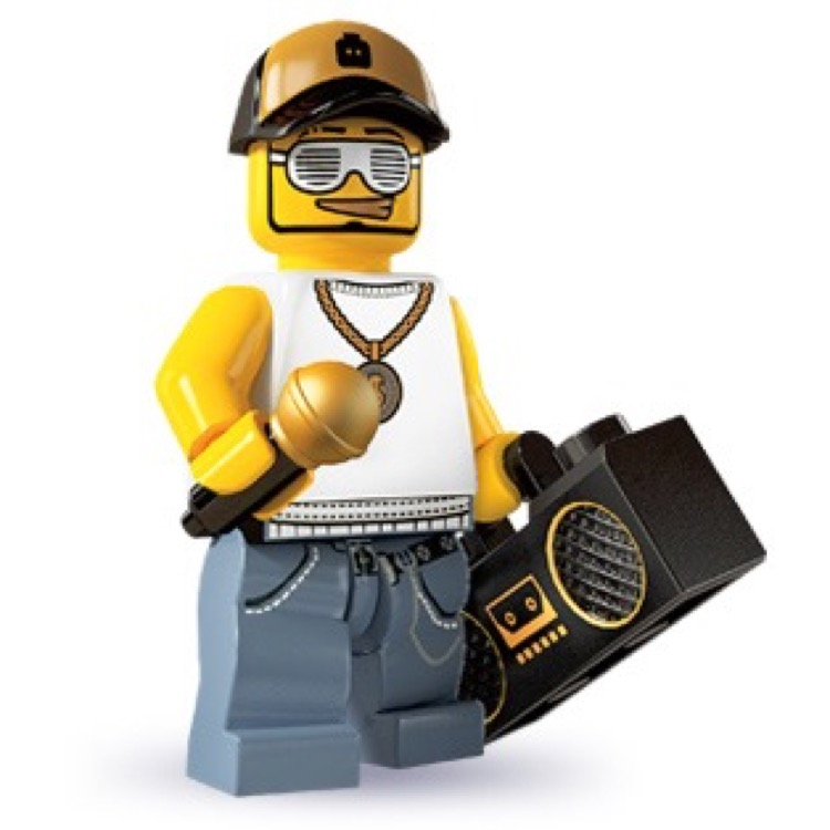 LEGO Collectible Minifigures: 8803 Series 3 Rapper NEW