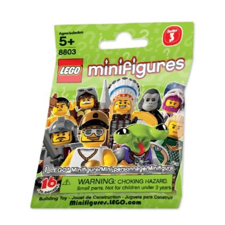 BRAND NEW PILOT LEGO MINIFIGURES SERIES 3-8803