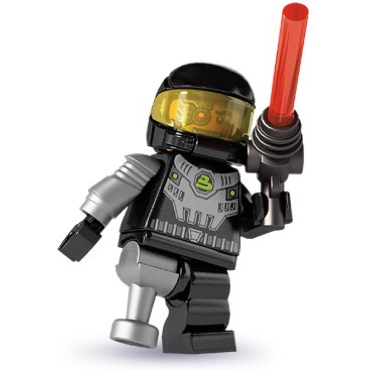 LEGO Collectible Minifigures: 8803 Series 3 Space Villain NEW