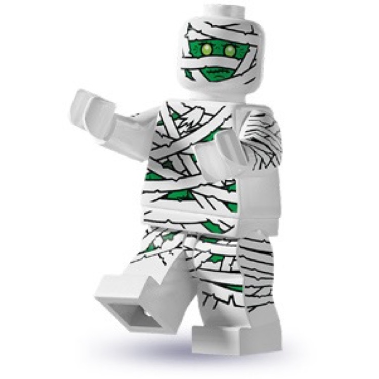 LEGO Collectible Minifigures: 8803 Series 3 Mummy NEW