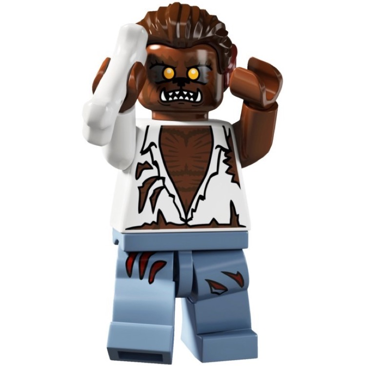 LEGO Collectible Minifigures: 8804 Series 4 Werewolf NEW