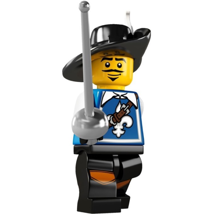 LEGO Collectible Minifigures: 8804 Series 4 Musketeer NEW