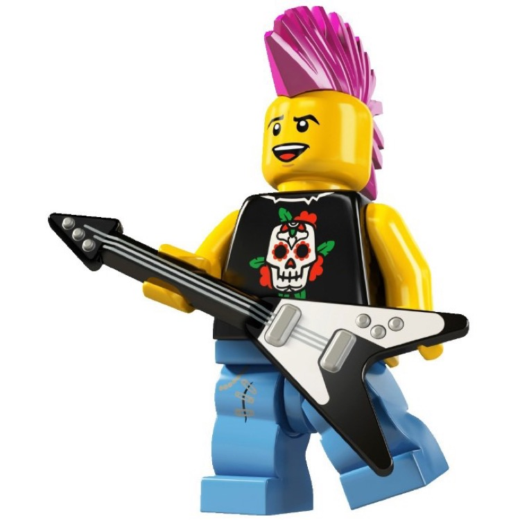 LEGO Collectible Minifigures: 8804 Series 4 Punk Rocker NEW