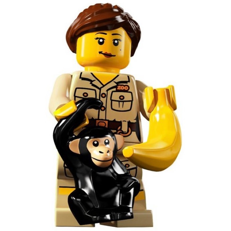 LEGO Collectible Minifigures: 8805 Series 5 Zookeeper NEW