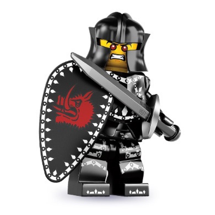 LEGO Collectible Minifigures: 8831 Series 7 Evil Knight NEW
