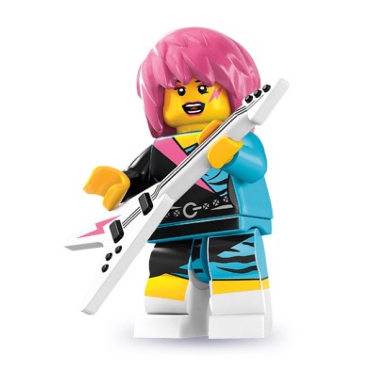 LEGO Collectible Minifigures: 8831 Series 7 Rocker Girl NEW