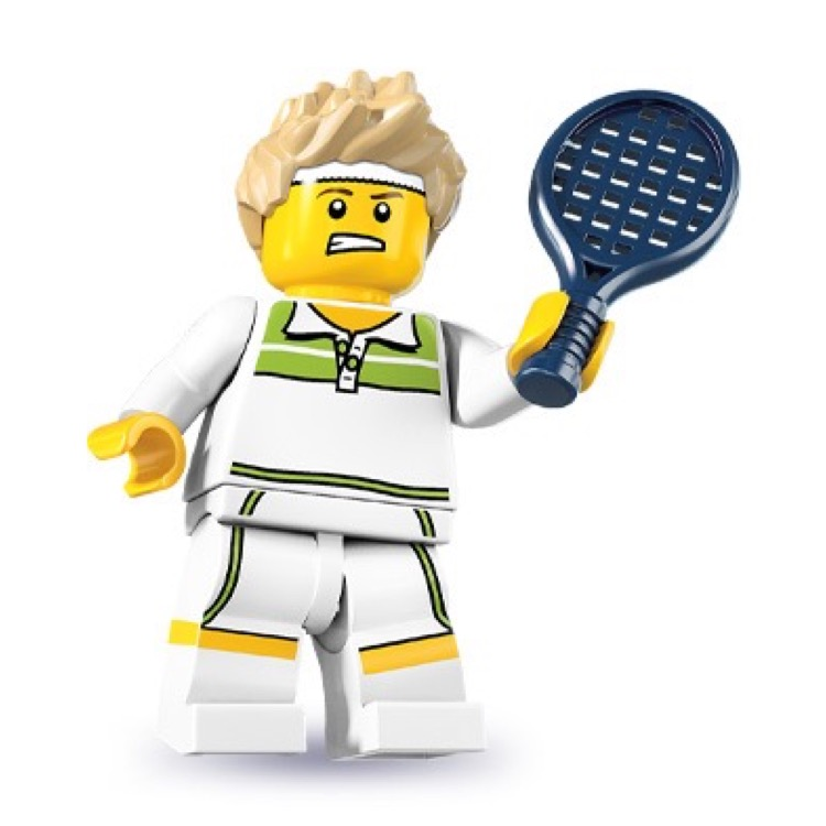 LEGO Collectible Minifigures: 8831 Series 7 Tennis Ace NEW
