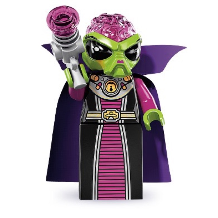 LEGO Collectible Minifigures: 8833 Series 8 Alien Villainess NEW