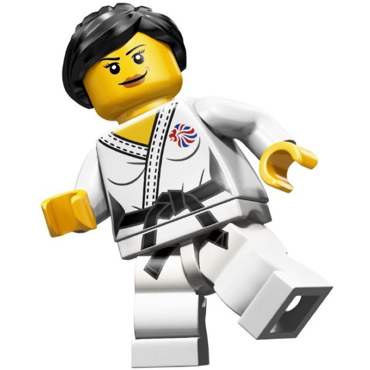 LEGO Collectible Minifigures: 8909 Team GB Judo Fighter NEW