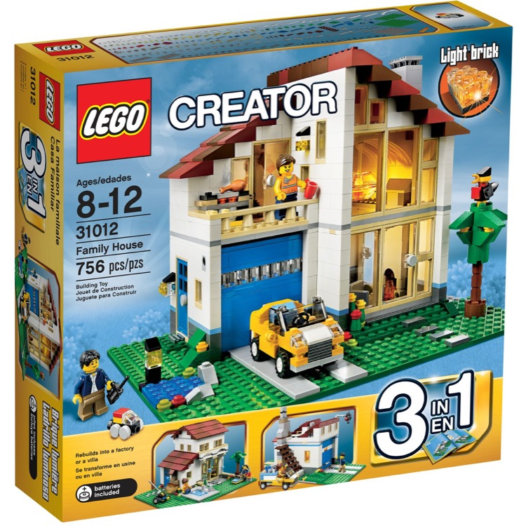 LEGO Creator Sets: 31012 Family House NEW