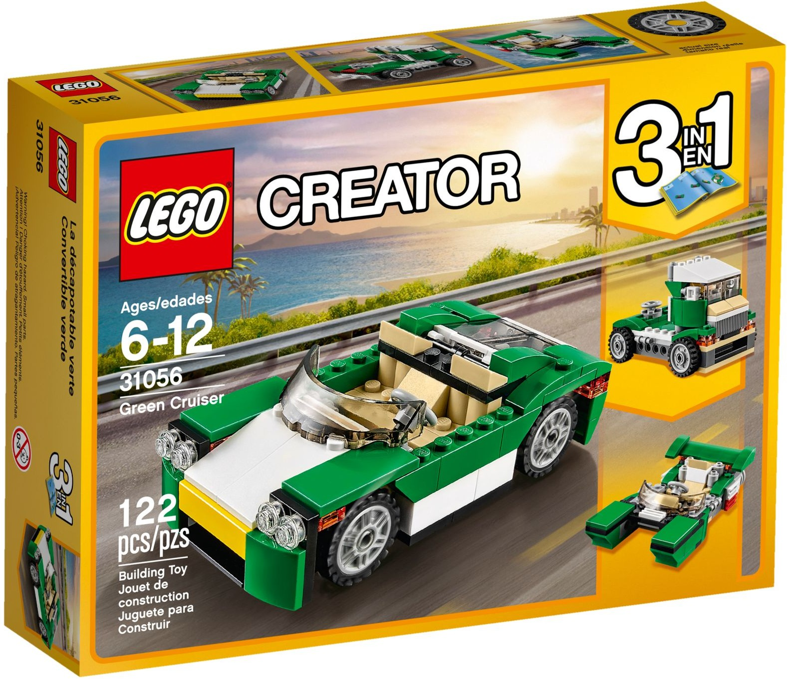 LEGO Creator Sets: 31056 Green Cruiser NEW