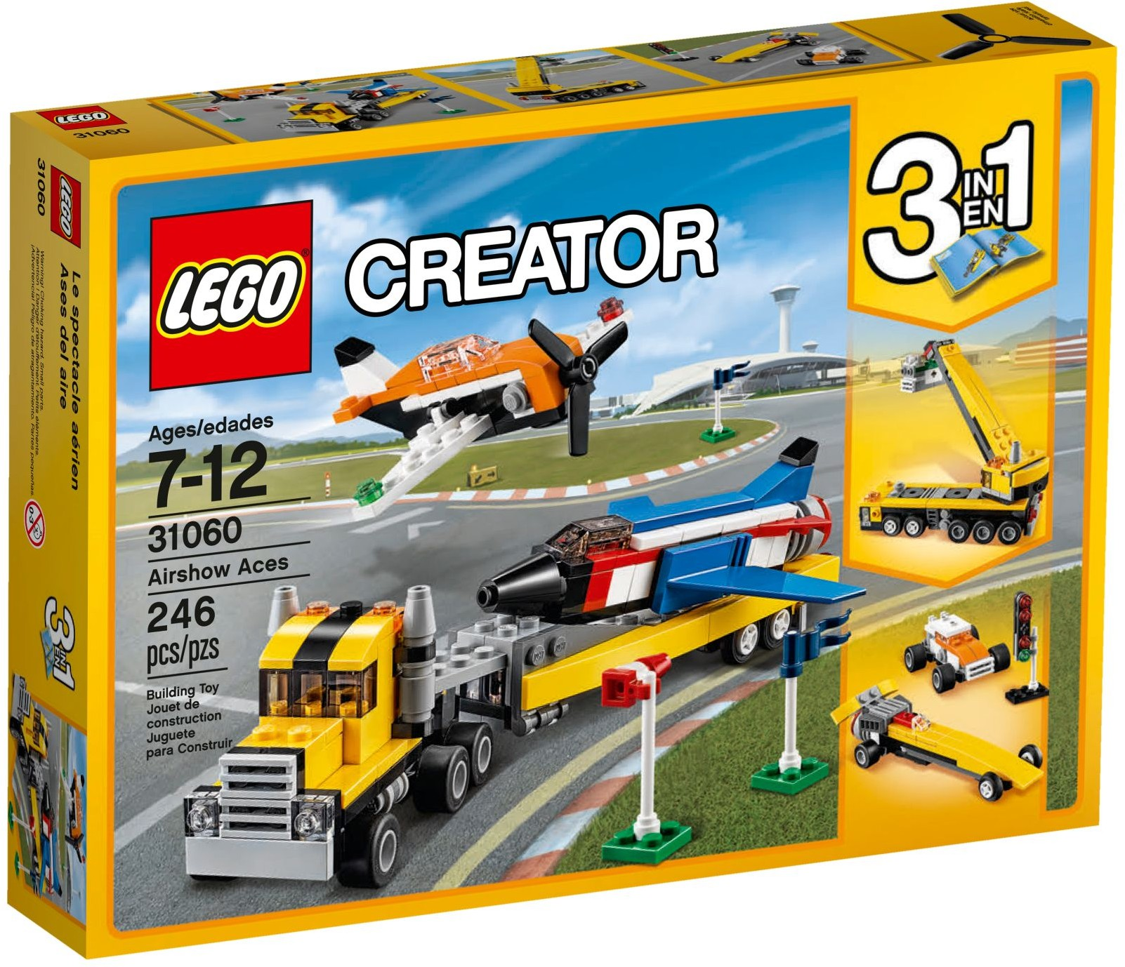 LEGO Creator Sets: 31060 Airshow Aces NEW