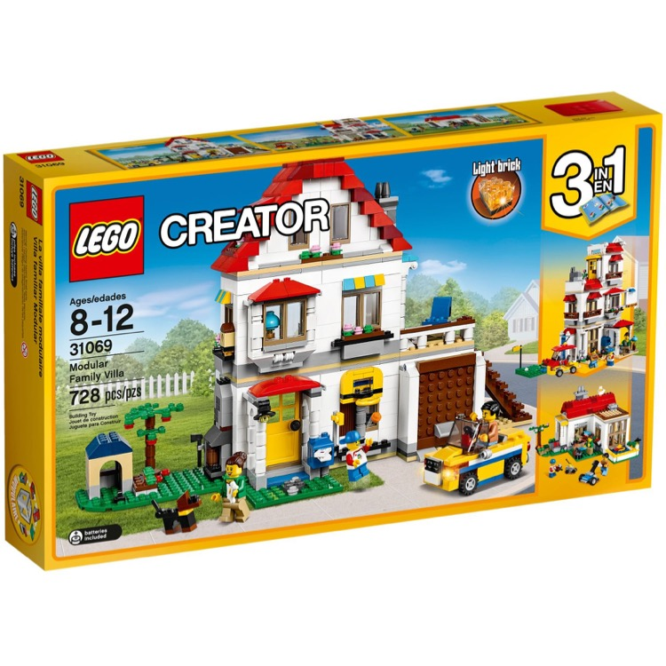 LEGO Creator Sets: 31069 Modular Family Villa NEW