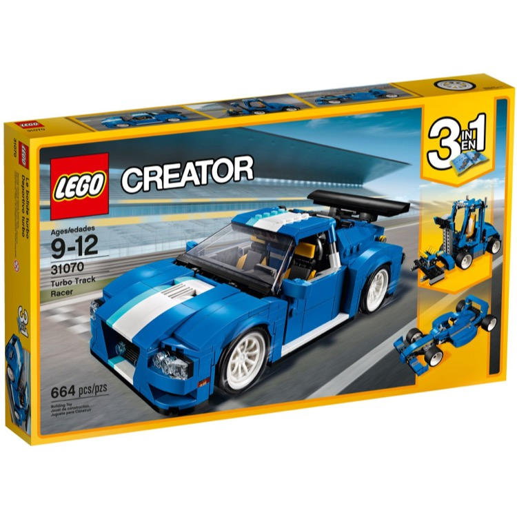 LEGO Creator Sets: 31070 Turbo Track Racer NEW