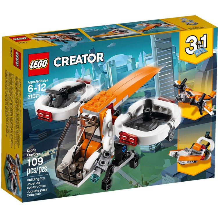 LEGO Creator Sets: 31071 Drone Explorer NEW