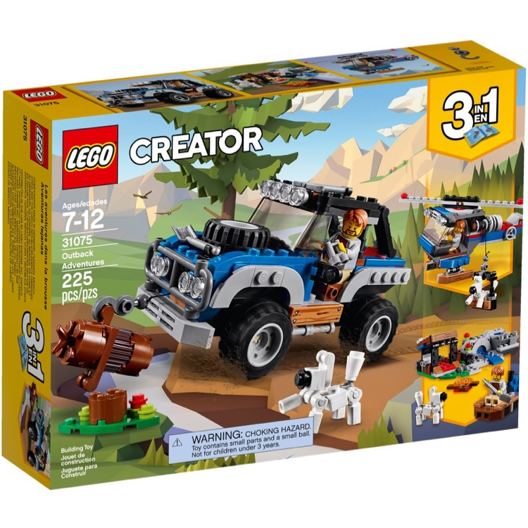 LEGO Creator Sets: 31075 Outback Adventures NEW