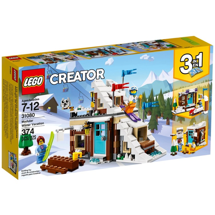 LEGO Creator Sets: 31080 Modular Winter Vacation NEW
