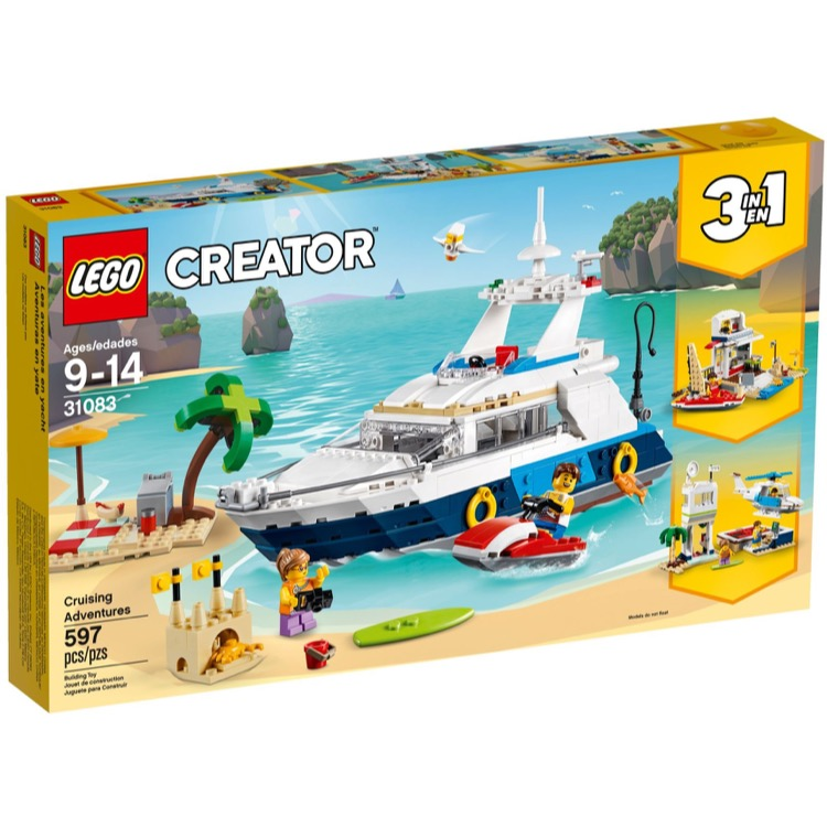 LEGO Creator Sets: 31083 Cruising Adventures NEW