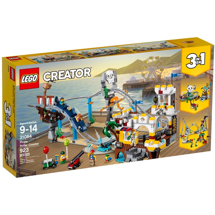 LEGO Creator Sets: 31084 Pirate Roller Coaster NEW