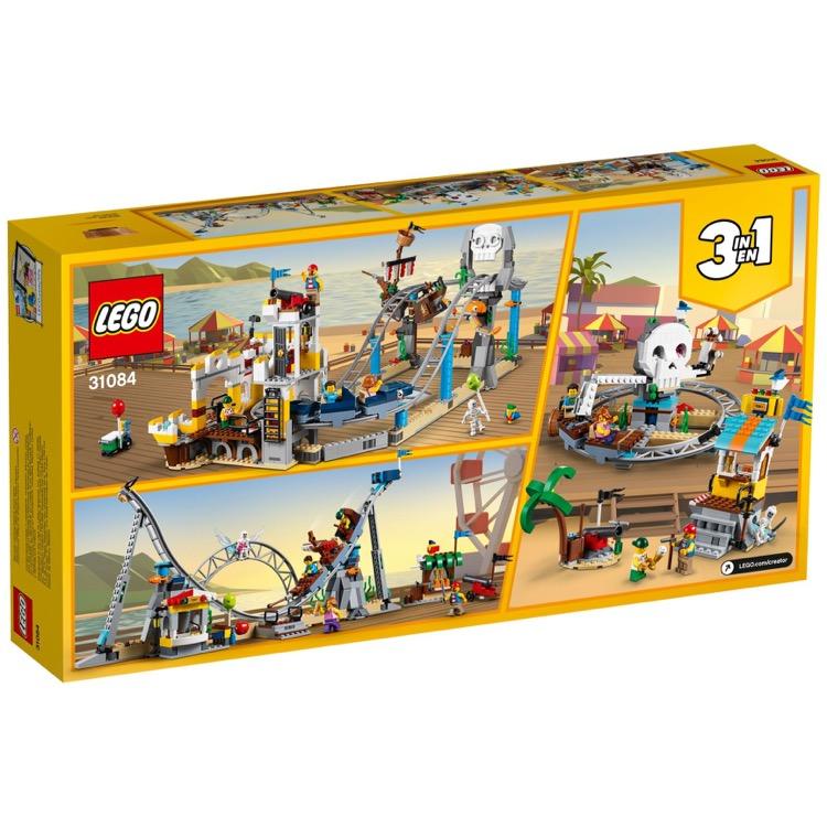 923 Pieces LEGO Creator 31084 BRAND NEW!! Pirate Roller Coaster
