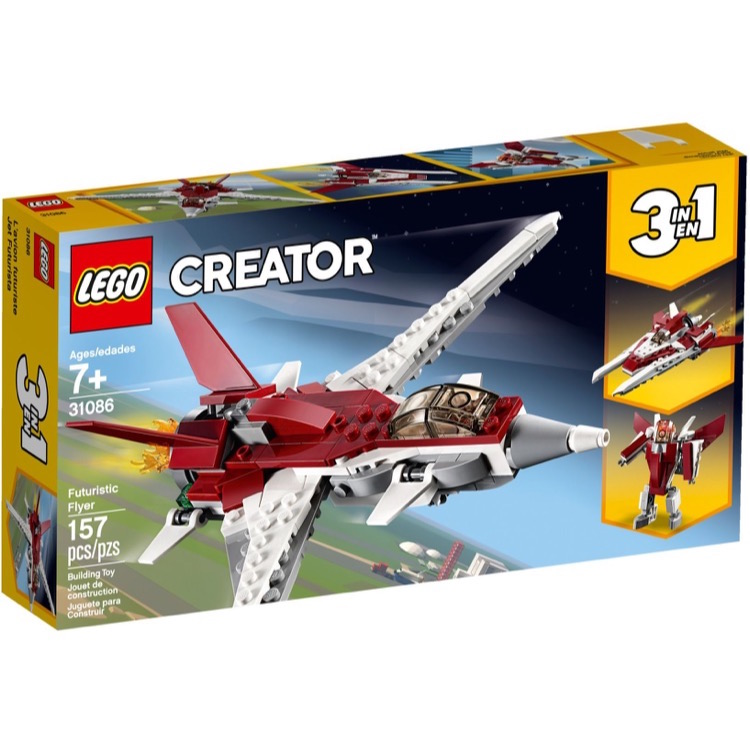 LEGO Creator Sets: 31086 Futuristic Flyer NEW